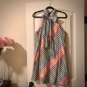 JCrew Sleeveless Bow Shift Dress
